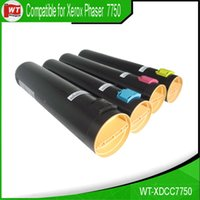 Wholesale Xerox Color Toner - 4 PK Color Toner Cartridges Set for Xerox 106R00652 106R00653 106R00654 106R00655 Phaser 7750 , BK C M Y