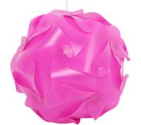 lampes à puce achat en gros de-3000pcs = 100set DIY Pendentif Moderne Ball Nov IQ Lampe Jigsaw Puzzle Pendentifs Pendentif Coloré Lumières 25CM / 30CM / 40CM 3 tailles 9clolors