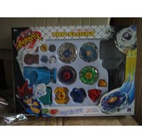 Wholesale Super Top Spinning Toy - Free shipping 1piece Beyblade set spin top toy,super battle beyblade metal fusion
