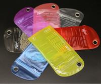 wasserdichte kleinverpackungsbeutel großhandel-Wasserdichte tasche abdeckung reißverschluss schutz kleinpaket verpackung pvc tasche für telefon case iphone 7 6 plus 6 s 5 5 s samsung s8 s7 s6 rand
