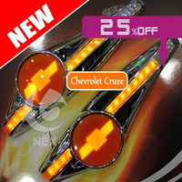 Wholesale Chevrolet Cruze Tail Lamp - led turn light steering lamp 2pcs car accessories daytime running light for Chevrolet Cruze AVEO 2009 2010 2011 2012 2013