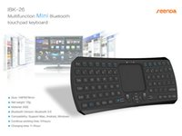 os x system - Black Multifunction IBK Bluetooth Mini Touchpad Keyboard Support For Mac OS X Android Windows System