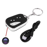 5pcs / lot 909 720P Keychain versteckte Minikamera-Digital-Video-Recorder DVR Mini-DV-
