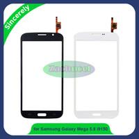 Wholesale Galaxy Mega Digitizer - 5.8 inch I9150 TP for Samsung Galaxy Mega 5.8 i9150 i9152 GT-i9150 GT-i9152 Touch Screen Panel Digitizer Sensor Lens Glass