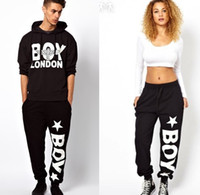 Wholesale London Pants - Wholesale-NEW WOMEN MEN HIP HOP STYLE SPORTS PANTS BOY LONDON PRINT Free shipping