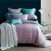 2015 Summer 60S Tencel 4PCS Комплект постельных принадлежностей Silky и Elegant Soft Breathable Bed Linen Queen King Size Home Collection