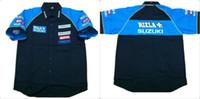 Wholesale New Model Suzuki - Wholesale-New Suzuki Shirt.Classic Model Moto GP Serie.