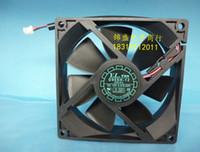 Wholesale 12v computer fans - original Y.L.FAN 90*90*25 12V 0.27A D90SH-12 2 wire chassis fan