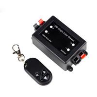 ingrosso dimmer luminosità-La luminosità del regolatore di 50pcs RF registrabile per 5050/3528 singola luci della striscia del LED di colore con il telecomando senza fili