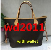 Wholesale Pu Leather Clutch Purse - wholesale hot Famous Classical designer handbags high quality Luxury women shoulder handbag purse bolsas feminina clutch tote bags