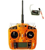 Wholesale Selling Radio Control Toys - Hot selling-ORX Full Range 2.4GHz 6 CH Wireless Radio Transmitter Remote Control with S603 Remote Receiver for helicopter
