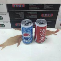 Wholesale Smallest Stereo Speakers - Pepsi bottle creative small speakers Mobile computer bluetooth cans Coke bluetooth stereo