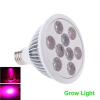 Wholesale Order 9w Led Bulb - Aluminum Alloy and Plastic 7Red 2Blue LED Grow Light Bulb 9W E27 AC85 - 265V Energy Saving Growth lamp For Greenhouse order<$18no track