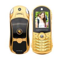 Wholesale Unlock Car Radio - Newmind F8 unlocked Russian,German,French,Spanish,Arabic,Hindi flashlight dual sim card car model mini mobile phone P215