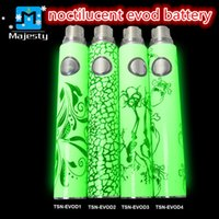 Wholesale cigarettes for sale free shipping for sale - Group buy Hallowmas on Sale TSN Battery with Noctilucent EVOD Battery for E Cigarette Batteries mAh mAh mah Fast Delivery