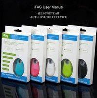 iphone bluetooth uzaktan kumanda kontrolü toptan satış-Akıllı bluetooth iTag Anti-kayıp hırsız Alarm çocuk GPS Tracker Uzaktan kumanda deklanşör hediyeler ebeveynler için iphone x 6 s 7 8 artı SAMSUNG S8