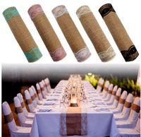 tischdecken für parteien großhandel-Heiße Tischdecken Baumwolle Leinen Tisch Einfache Spitze Tischdecken Europäischen stil Tischdecken weihnachtsfeier dekorationen IB524