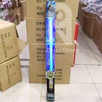 Wholesale Star Wholesale Led - Zorn-Lightsaber Star Wars The Force Awakens Luke Skywalker&Anakin Darth Vader FX LED Electronic Lightsaber Roleplay Toy monochrome Sound