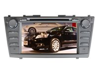 Wholesale Toyota Camry Audio - 2017 new free shipping Toyota Camry 2007 2008 2009 2010 2011 8 inch car dvd player audio video multimedia player free map camera BLUETOOTH