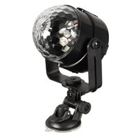 Vente en gros- Boule de cristal Sound Active contrôle à distance Magic LED Stage Light Lampe de nuit Support de plaque MP3 DJ Club Pub Disco Party Show éclairage