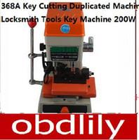 mejores máquinas de corte clave al por mayor-La mejor oferta Promoción 368A Vertical Car Household Key Copy Cutting Máquina Dulplicated Cerrajero Picking Tool 200 W Envío Gratis