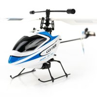 Wholesale Model Aircraft Propellers - Wholesale-Weili V911 2.4G new four-channel single-propeller helicopter remote control model aircraft started free shipping