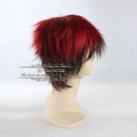 Wholesale Anime Wig Cosplay Mens - Kagami Taiga Short Red Wig Peruca Masculina, Mens Anime Cosplay Wigs Online, The Basketball Which Kuroko Plays