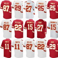 Compra Alex Smith-Hombres 2018 Kansas City Chief Jersey # 15 Patrick Mahomes II # 22 Marcus Peters # 11 <b>Alex Smith</b> # 29 Eric Berry # 27 Kareem Hunt Jerseys