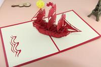 tarjeta de felicitación hecha a mano para el regalo al por mayor-El Creative