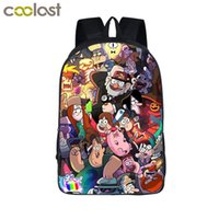Cartoon Gravity Falls Mochila para niñas adolescentes Bolsas escolares Dipper Mabel Mochila Kids Gravity Falls Bag Mejor regalo