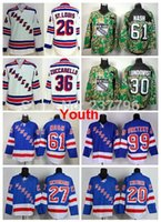 2014 NY Stanley Cup Youth New York Rangers Jersey Hockey Kids Martin St.  Louis b65eb1600