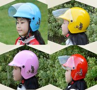 Wholesale Baby Electric Bicycle - 2016 New Taiwan ZEUS children half helmet motorcycle electric bicycle helmets four seasons of boys and girls baby safety helmet size S