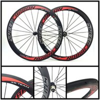 Wholesale More Road Bike - NEW 3sTeam Carbon Road Bike Wheelset 50mm Clincher 23mm Width Bicycle Unique Wheelset More Hubs Choose With Free Gifts