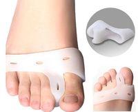Wholesale Finger Toes - Silicone Gel foot fingers Toe Separator thumb valgus protector Bunion adjuster Hallux Valgus Guard feet care