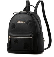 Wholesale Nice Travel Bags - Lady New Embroidery Unique Nice School Bag Travel Rucksack Shoulder Bags Women National Style Backpack Gifts Black
