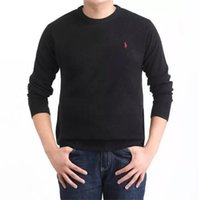 Wholesale Wool Sweater Mens M - 2016 Winter Sweater Men O-NECK Casual knitting Jumpers Sweaters Mens Long Pullovers Famous Brand