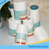 Wholesale Popfish rolls Bamboo Flushable Diaper Liners for Cloth Diapers Popular Like Diaper Liner Good Partner