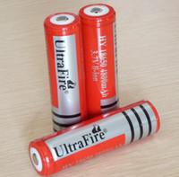 аккумуляторы оптовых-Оптовая 18650 литий литий-ионный аккумулятор ultrafire 18650 аккумуляторная батарея бесплатная доставка
