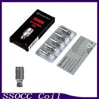 bobinas subox venda por atacado-Cabeça do atomizador da bobina de Kanger SSOCC 0.5ohm 1.2ohm Ni200 0.15ohm Ajuste suboxidável do subox mini o jogo do acionador de partida 0266054-1