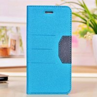 Wholesale Mobile Cover Note2 - New Luxury Frosted Holster Flip Leather Wallet Case Stand Cover For iphone 5 6 For Samsung Note2 3 4 S S5 Mobile Phone Case Bag