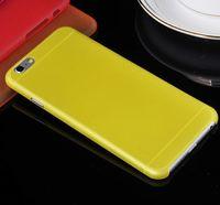 super dünnen handy großhandel-Großhandels-Neu kommen super dünne 0.3MM transparente klare schützende Fall-Abdeckung für Apple iPhone 6 Plus 5,5 Zoll-Handy-Beutel an