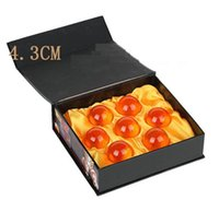 Wholesale Naruto Box Set Wholesale - 2016 Animation dragonBall 4.3cm 7 stars crystal ball set of 7 pcs new in box dragon ball Z complete