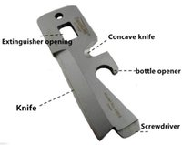 Wholesale Timberline Wrench - 5 in 1 TIMBERLINE R085 02 Wrench Multi-Purpose Tool Pocket Stainless Pocket Card Knife Outdoor Gear Stealth Survival tool Free Shipping