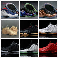 2017 Penny Hardaway Basketball Chaussures Argent Hommes Chaussure Homme Air Européenne Pearl Pro One 1 Chaussure Pas Cher Répliques Sport Sneakers
