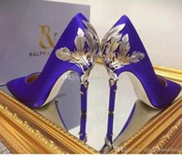 Wholesale Burgundy Prom Shoes - 2017 navy blue burgundy white black champagne shoes for wedding silk bridal heels evening prom shoes