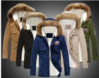 Abbigliamento da uomo Giacca da uomo Warm Parka Collo in pelliccia con cappuccio invernale spessa Duck Down Coat Outwear Piumino Comfortabel Warm Hot Sell Fashion