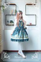 Wholesale Arabian Nights - Wholesale-Neverland Mystery Arabian Night Printed Sleeveless Lolita Jumper Skirt for Girl
