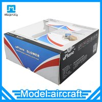 Wholesale Radio Model Planes - New Aircraft Uplane Bluetooth 4.0 Mobile Phone Gravity Sensing Remote Control Airplane Model Mini Fixed-wing Plane Christmas Gift