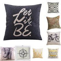 Gros-2015 Hot New Home Coussin décoratif Coussin Throw taie 18