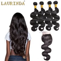 Wholesale brazillian hair natural top closure resale online - Top Lace Closure With Bundles Brazilian Human Hair Weaves Malaysian Body Wave Virgin Hair Grade A Brazillian Hair Closures